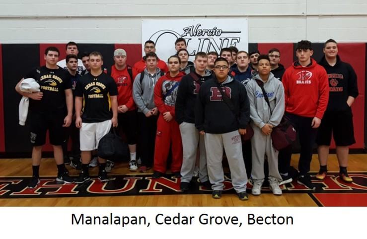 1-Manalapan, Cedar Grove, Becton