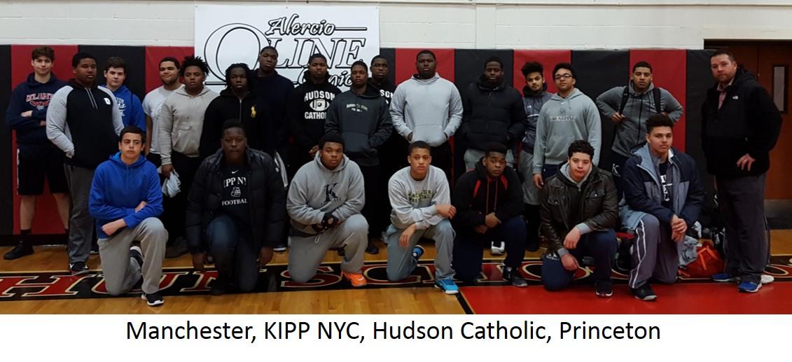 3-Manchester, KIPP NYC, Hudson Catholic, Princeton